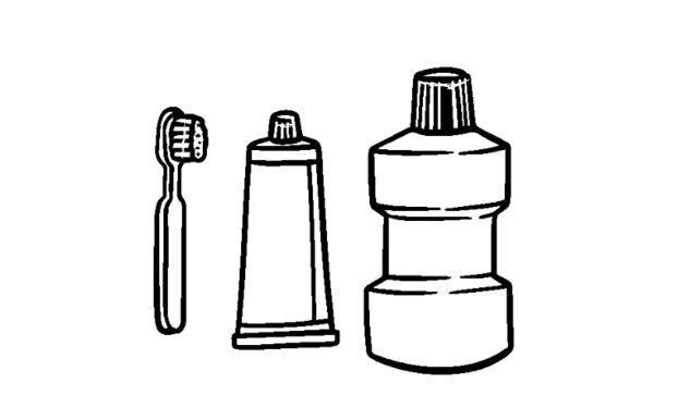 Les étapes du bain de bouche