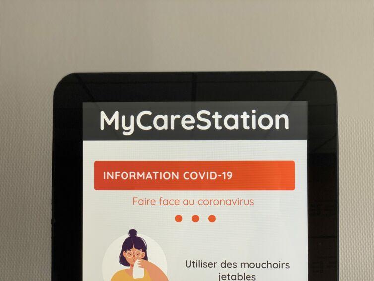 Borne MyCareStation Cleanitud