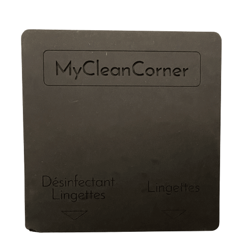 distributeur lingettes désinfectant